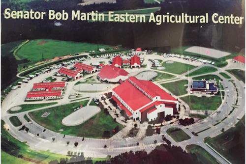 Senator Bob Martin aerial view
